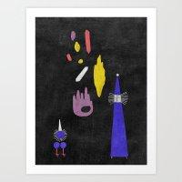 Return From The Stars #3 Art Print