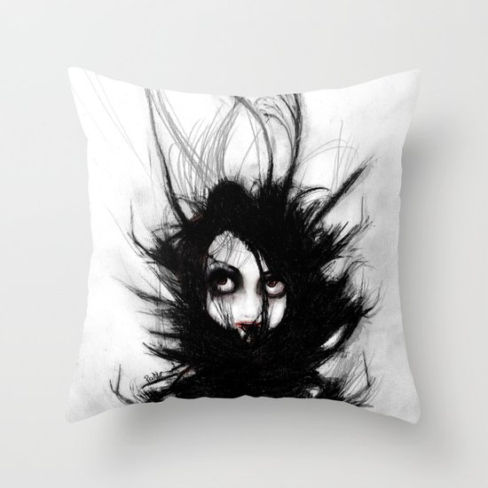 Coiling and Wrestling. Dreaming of You Throw Pillow