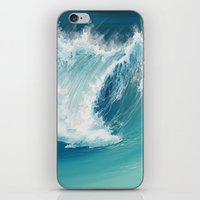 Musical Thunder iPhone & iPod Skin