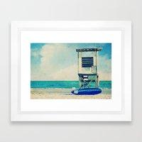 In The Summertime Framed Art Print