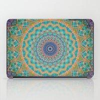 Travel Into Dimensions Mandala. iPad Case