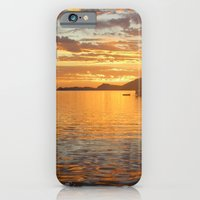 iPhone & iPod Case featuring Sunrise on the Sea of Cortez. by Sylvie Heasman