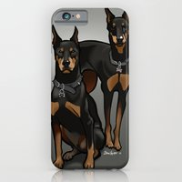iPhone & iPod Case featuring Leo & Libra by BinaryGod.com