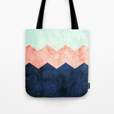 triple chevron (2) Tote Bag