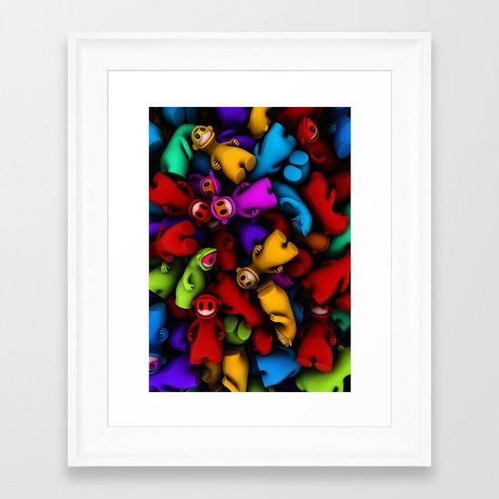 Frings Framed Art Print