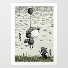 'Balloon' (Colour) Art Print