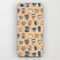 Coffee & Tea iPhone & iPod Skin