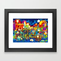 Chatbots Framed Art Print