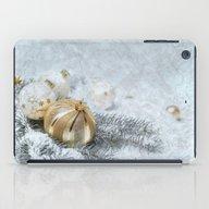 Silver Gold Ornaments iPad Case