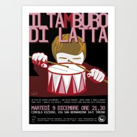 The Tin Drum Art Print