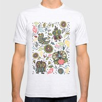 Woodland Mens Fitted Tee Ash Grey SMALL