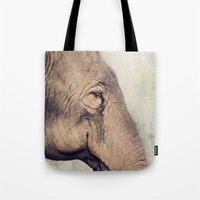 The Smiling Elephant Tote Bag