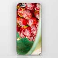 Red Grapes iPhone & iPod Skin