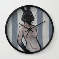 untitled (dead things 01) Wall Clock