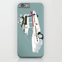 iPhone & iPod Case featuring Ecto-1A by Martin Lucas