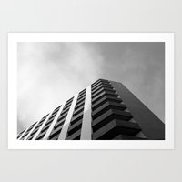 angular fade Art Print