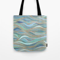 Wave Lines 1 Tote Bag