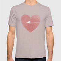 Half Of Me Mens Fitted Tee Cinder SMALL