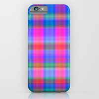 iPhone & iPod Case featuring Misty Plaid  by Christy Leigh