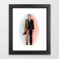 2 WALTER BISHOP (FRINGE) Framed Art Print