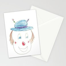 Childhood Drawings (clown) Stationery Cards
