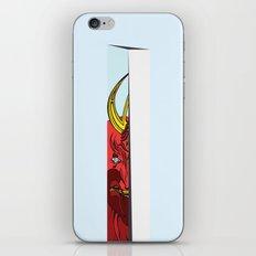 Strait Samurai Sword iPhone & iPod Skin