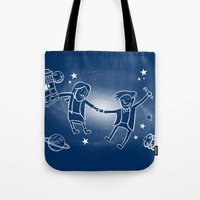 Adventures in Space/Time Tote Bag