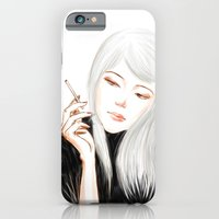 iPhone & iPod Case featuring White by Jiaxi Huang