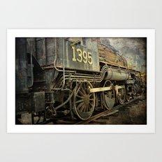 Old Iron Art Print