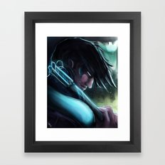 Nightwing Framed Art Print