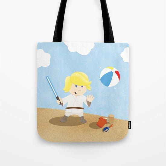SW Kids - Luke at the Beach Tote Bag