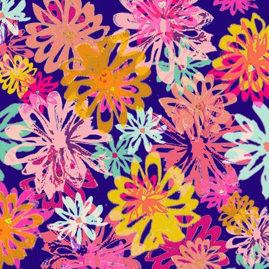 FlowerHex Art Print