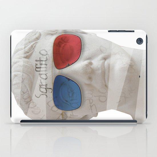 scratch 3D iPad Case