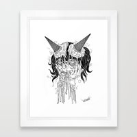 SLURP Framed Art Print