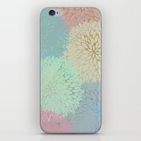 Abstract Floral Petals iPhone & iPod Skin