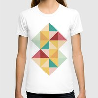 Candy Womens Fitted Tee White SMALL
