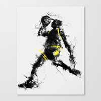 Anti gravity Canvas Print