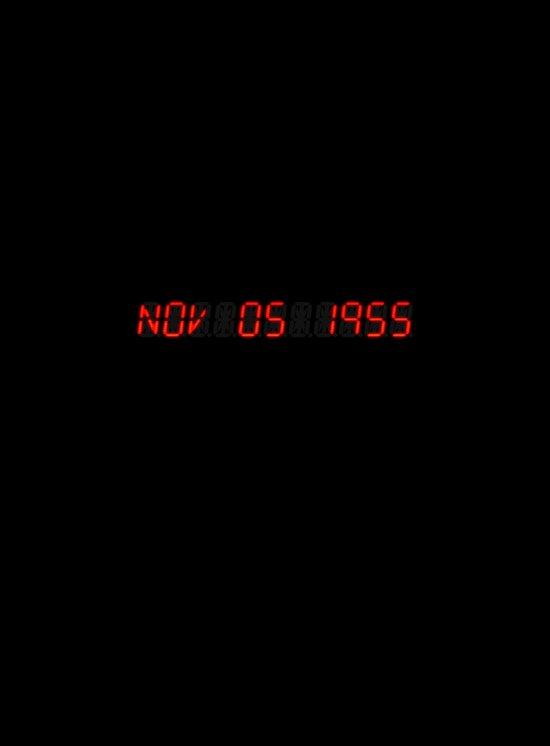 Nov 05 1955 - Back to the future Canvas Print
