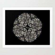 Peace Poppy Art Print