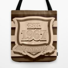 1967 Funland Funky Vintage Tote Bag