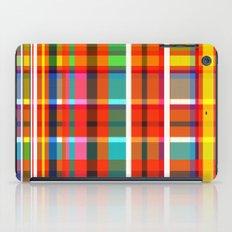 Madras Bright Check iPad Case