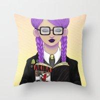 Girls read comics too, Akira Throw Pillow