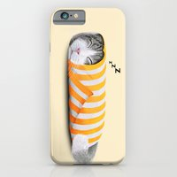 iPhone & iPod Case featuring Cat in the paper by Tummeow