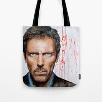 Hugh Laurie, House Tote Bag
