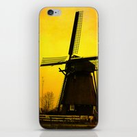 Dutch Windmill iPhone & iPod Skin