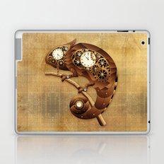 Steampunk Chameleon Vintage Style Laptop & iPad Skin