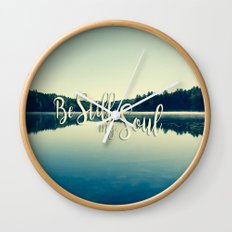 Be Still My Soul Wall Clock