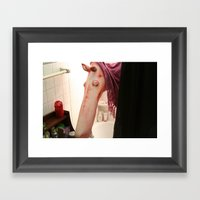 Muppet Terrors: Shower C… Framed Art Print