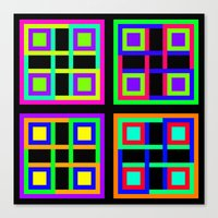 4, or Four Canvas Print
