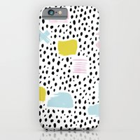 Pastel Spots And Dots iPhone 6 Slim Case